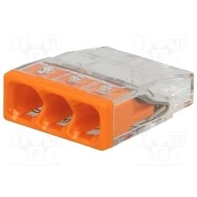 Ligador Rapido Wago 2273-203 3x0,5-2,5mm ### - LIGADOR-WAGO06