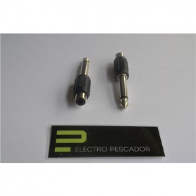 Adaptador RCA Femea - 6,3mm Macho Mono - 53040200