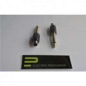 Adaptador RCA Femea - 6,3mm Macho Mono - 53040200
