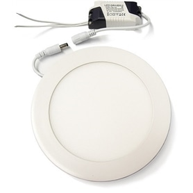 Projector Encastrar Redondo Branco LED 18w Branco Frio - 1601.2907