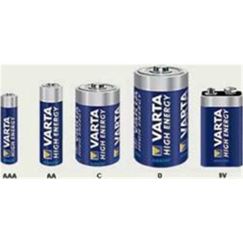 Pilha Varta Alkalina AAA 4903 High Energy - PIL-VARTA+AAA