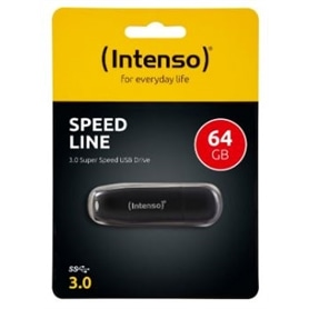 USB DISK PEN DRIVE 64GB - USB 3.0 INTENSO SPEED LINE - 1710.1894