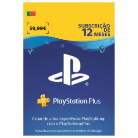 PLAYSTATION PLUS CARD: 12 MESES PSPLUS 365 DAYS - 711719261636