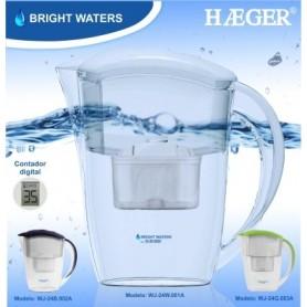 Jarro Purificador Haeger Bright Waters Branco - KEN-JARRO02