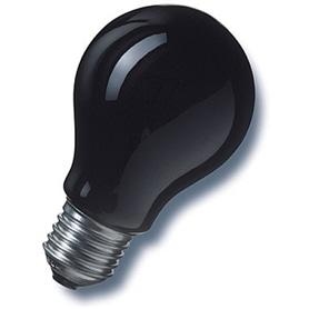 Lâmpada E27 A60 Normal 75w Luz Negra - LP-LPSPECIAL02