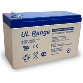 Bateria Chumbo Selada 12v 7,2A C=151x L=65x A=94 - BATERIA03
