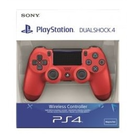 COMANDO PS4 SONY DUALSHOCK ORIGINAL RED - 1710.0497
