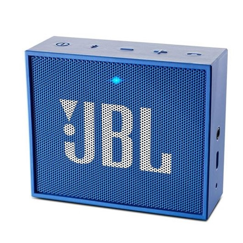 COLUNA MINI AMPLIFICADA BLUETOOTH   3W JBL GO+ BLUE - 1907.0198