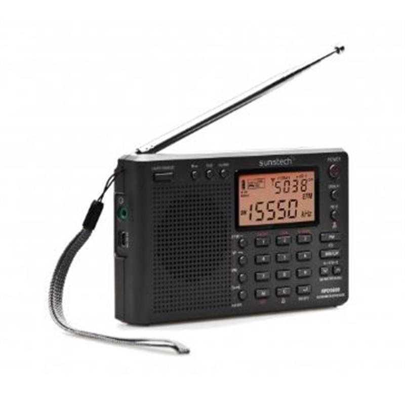 RADIO MULTIBANDAS SUNSTECH RPDS800 TITANIUM - 1406.1205