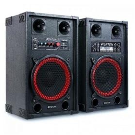 """COLUNAS PRO ATIVAS 10"""" FENTON 600W MP3/USB/SD - 1905.2850"""