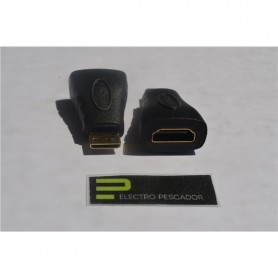ADAPTADOR HDMI FEMEA - MINI HDMI MACHO - GEN-ADAPTHDMI01