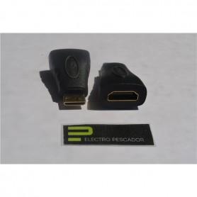 ADAPTADOR HDMI FEMEA - MINI HDMI MACHO - GEN-ADAPTHDMI01