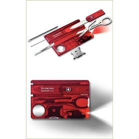 Swisscard Lite Victorinox Vermelho 0.7300.T - VIC-CANIVETE005
