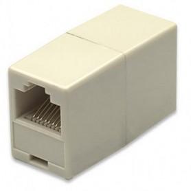 Adaptador União RJ45 Femea - Femea 8 contactos - 44040831