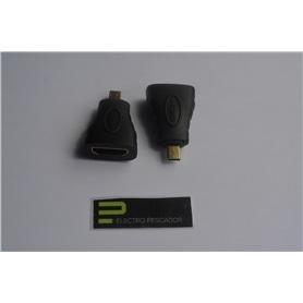 ADAPTADOR HDMI FEMEA - MICRO-HDMI MACHO - GEN-ADAPTHDMI05