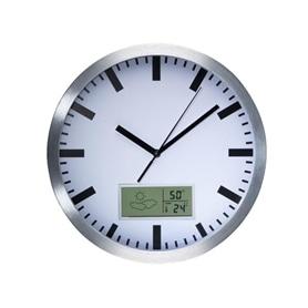 Relógio de Parede Analógico c/Display Velleman WC25 - 1609.2752
