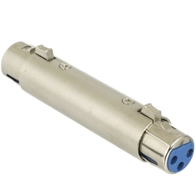 Adaptador XLR Femea - XLR Femea - 44020488