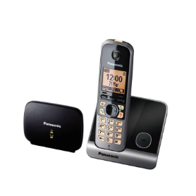 TELEFONE SEM FIO PANASONIC KX-TG6751SPB + EXTENSOR SINAL - 1812.0599