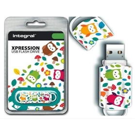 USB DISK PEN DRIVE 16GB USB 2.0 XPRESSION INTEGRAL OWLS - 1908.2301