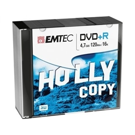 MG DVD+R EMTEC  4,7GB - 16X - 120 MINUTOS - 1910.2550