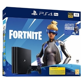 CONSOLA PS4 PLAYSTATION 4 DISCO 1TB PRO + FORTNITE - 1809.2096