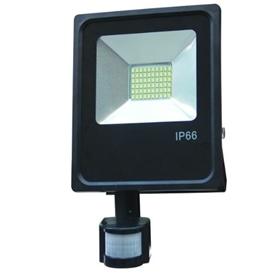 Projector Exterior LED  50w Branco Frio c/Sensor - 1909.1754