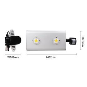 Projector Exterior LED 100w Branco c/Sensor - 1909.1755