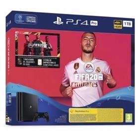 CONSOLA PS4 PLAYSTATION 4 PRO DISCO 1TB + FIFA 20 - 1911.2801