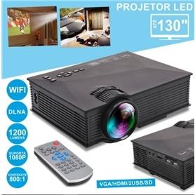 VIDEOPROJETOR LED 1200 LUMENS VPU46 HD 1080P - 1911.1401