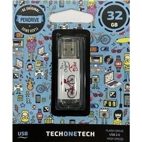 USB DISK PEN DRIVE 32GB - USB 2.0 BE BIKE - 1912.1150