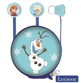 PHONES STEREO COM MICROFONE LEXIBOOK DISNEY FROZEN HP008FZ - 1912.1407