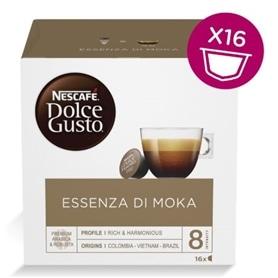 Dolce Gusto - Capsulas Cafe Essenza Di Moka 16 Bebidas - 1703.1850