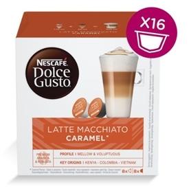 Dolce Gusto - Capsulas Latte Macchiato Caramel - DOLCEGUSTO-CAP22