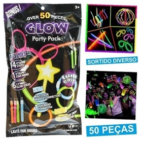Kit Festivo: Tubos Luminosos ProFTC 50 pcs - 1912.2453