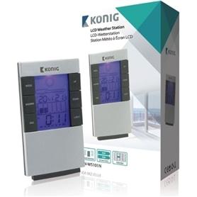 ESTACAO METEREOLOGICA KONIG LCD KN-WS101N - 1911.0703
