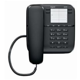 TELEFONE COM FIO SIEMENS DA410 PRETO - 2001.2402