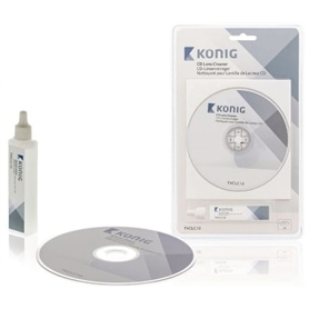 Kit Limpeza para lentes CD & DVD Konig TVCLC10 - 2001.2950