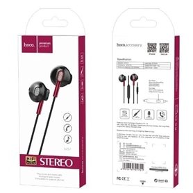 PHONES STEREO COM MICROFONE HOCO M57 RED - 2002.1791