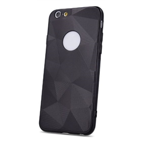 BOLSA TLM SILICONE GEOMETRIC SHINE IPHONE 6 PLUS BLACK - 2003.0829