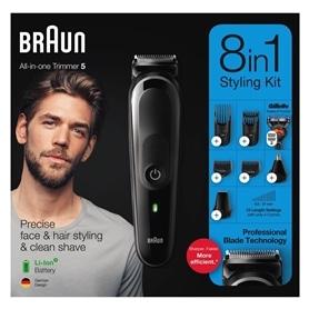 Apara Barba & Cabelo Braun MGK5260 8 em 1 - 2004.2152