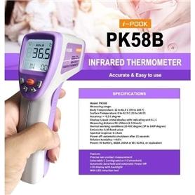 Termometro Corporal Digital Infravermelhos I-POOK PK58B - 2004.2996