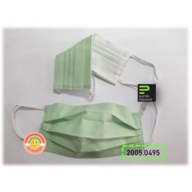 Máscara Solidária Lavável Verde + Sticker - 20005.0495