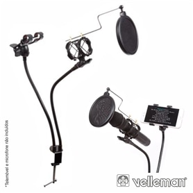 PACK ESTUDIO HQ POWER+SUPORTE MESA+POP FILTER - 2006.2350