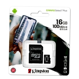 CARTAO MICRO SD 16GB+ADAPT SD CLASSE 10 100MB/S KINGSTON LA - 2006.2501