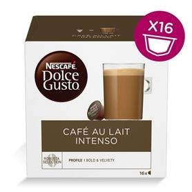 Dolce Gusto - Capsulas Café au Lait Intenso 16 Bebidas - 2006.2850