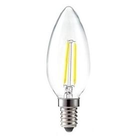 Lâmpada E14 VELA Decorativa LED Filamento 6w Branco Frio - 2007.2754