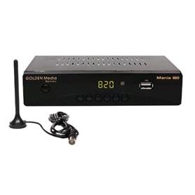 RECEPTOR TDT + ANTENA GMD 82 COMPATIVEL COM TODOS OS TV - 2007.2851