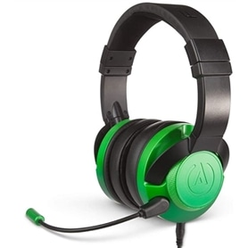 HEADSET PS4 & PC & XBOX POWER A FUSION WIRED GREEN - 2007.3095