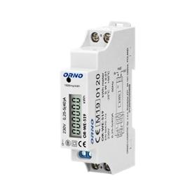 Medidor custos energia Orno p/Calha OR-WE-519 - 2008.0751