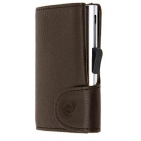 Carteira Cartões C-SECURE RFID 1703 Dark Brown - 2007.1409
